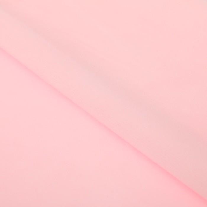 Ткань для пэчворка Плюш «Нежно‒розовая», 55 х 50 см. фото