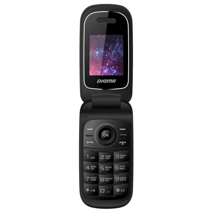 Сотовый телефон Digma LINX A205 Black, 2sim, 1,77