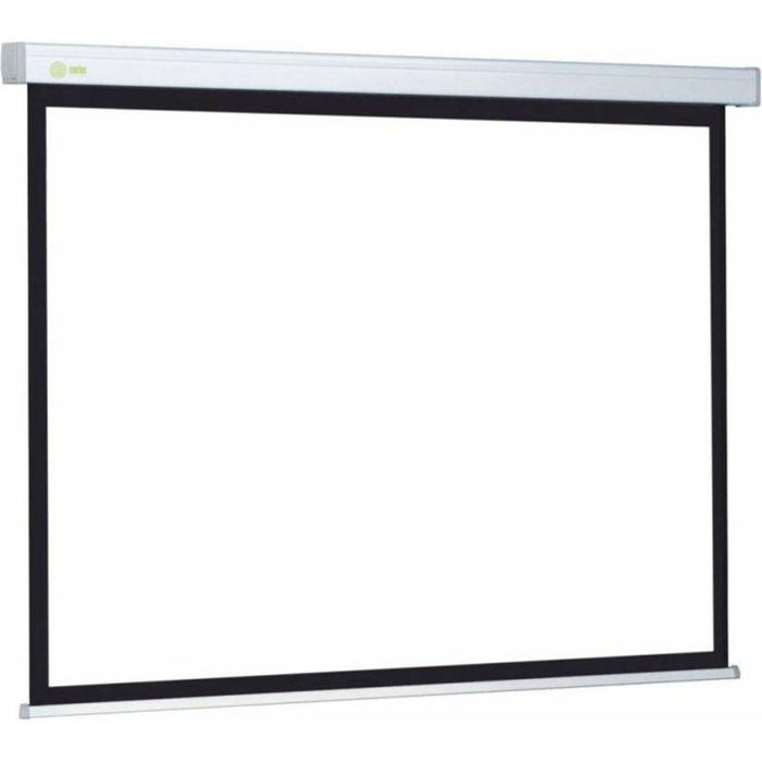 Экран Cactus 127x127 Wallscreen CS-PSW-127X127 1:1, настенно-потолочный, рулонный фото