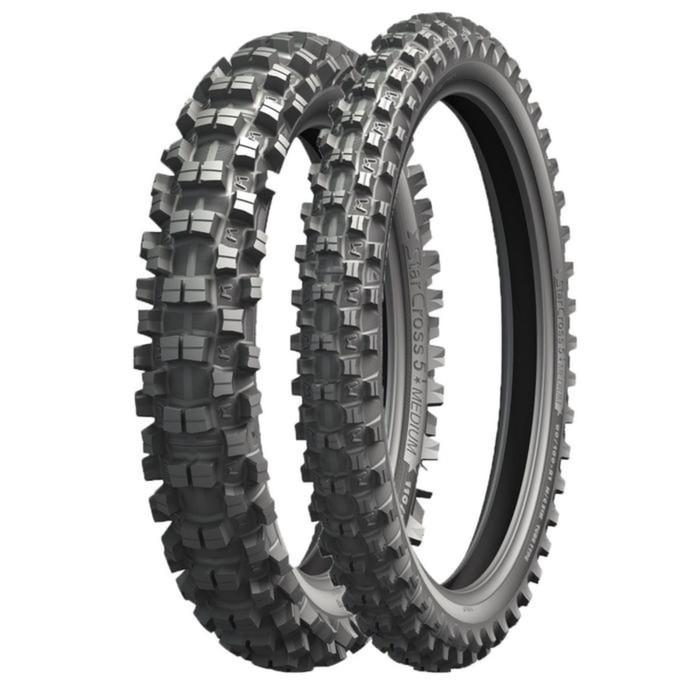 Мотошина Michelin Starcross 5 MEDIUM 100/90 57M Rear Кросс TT фото