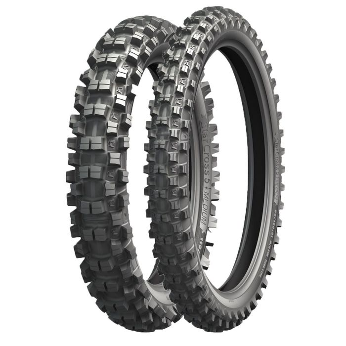 Мотошина Michelin Starcross 5 MEDIUM 80/100 51M Front Кросс TT фото