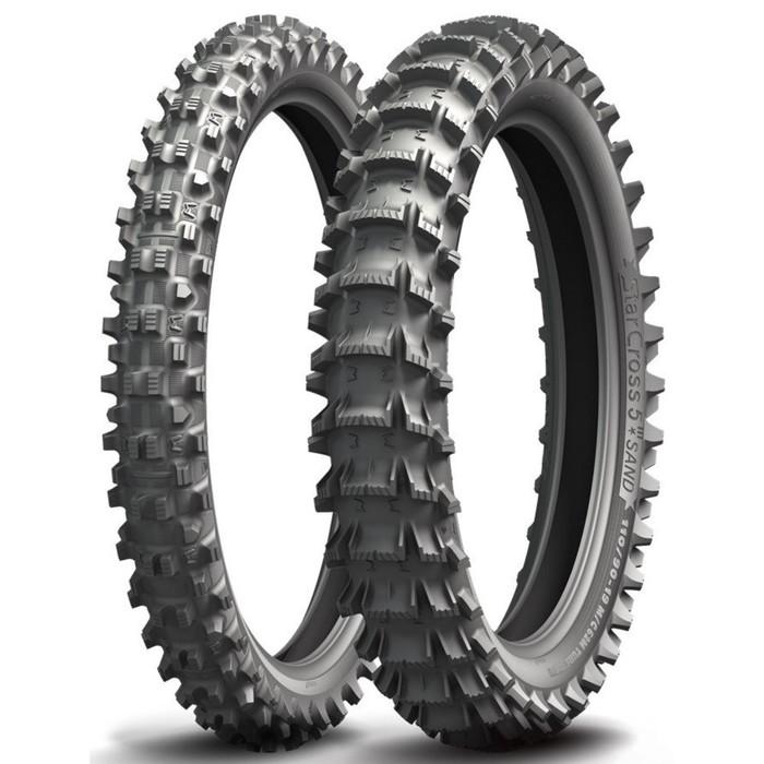 Мотошина Michelin Starcross 5 SAND 110/90 62M Rear Кросс TT фото