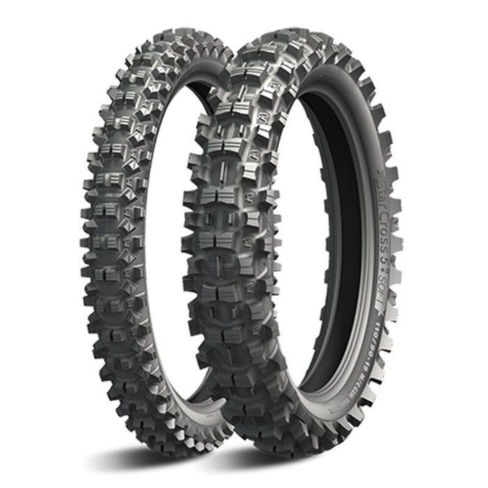 Мотошина Michelin Starcross 5 SOFT 80/100 51M Front Кросс TT фото
