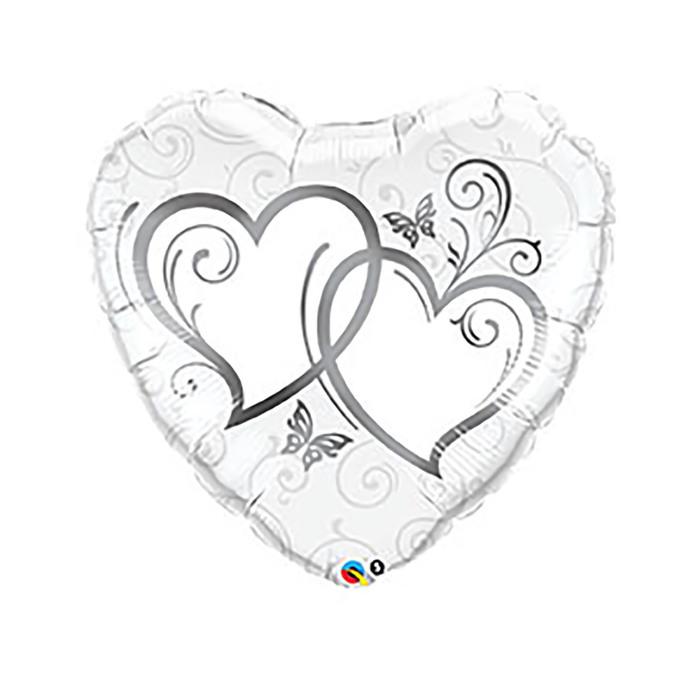 Шар фольгированный сердце 36