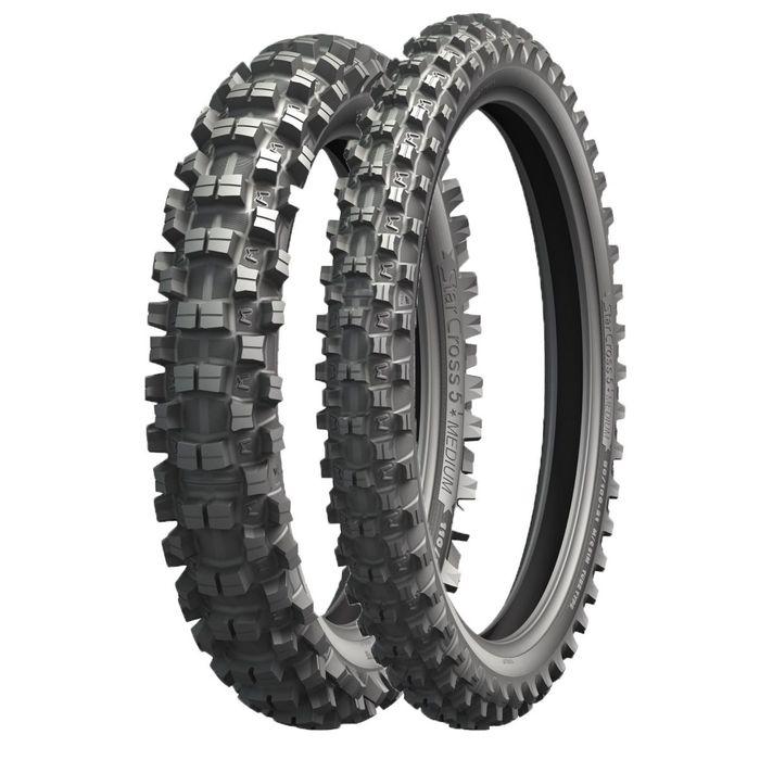 Мотошина Michelin Starcross 5 MEDIUM 120/90 65M Rear Кросс TT фото