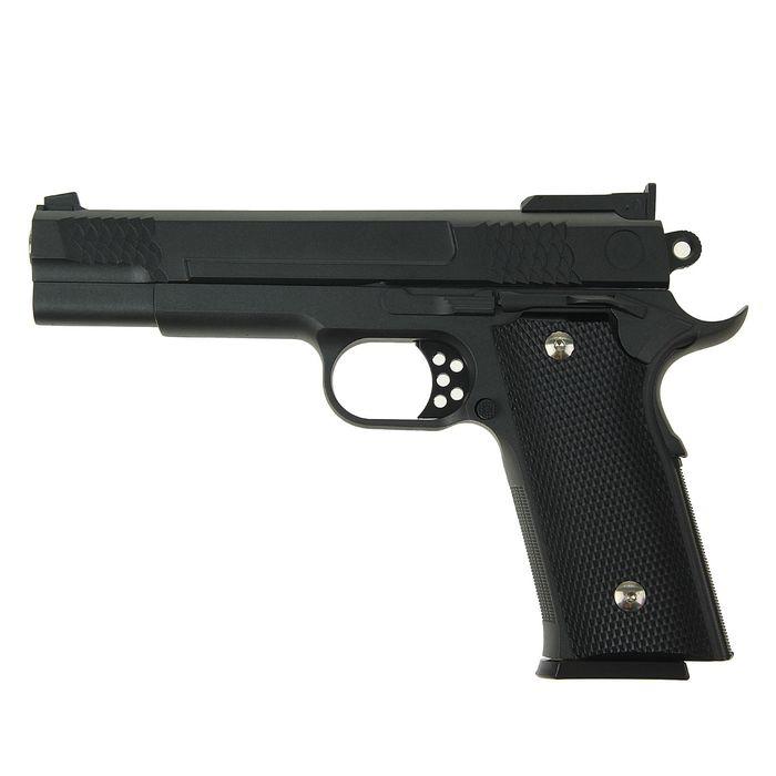 Пневматический пистолет пружинный Galaxy Browning G.20, 6 мм фото
