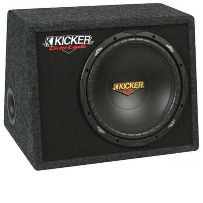 Сабвуфер KICKER VES124box, 12