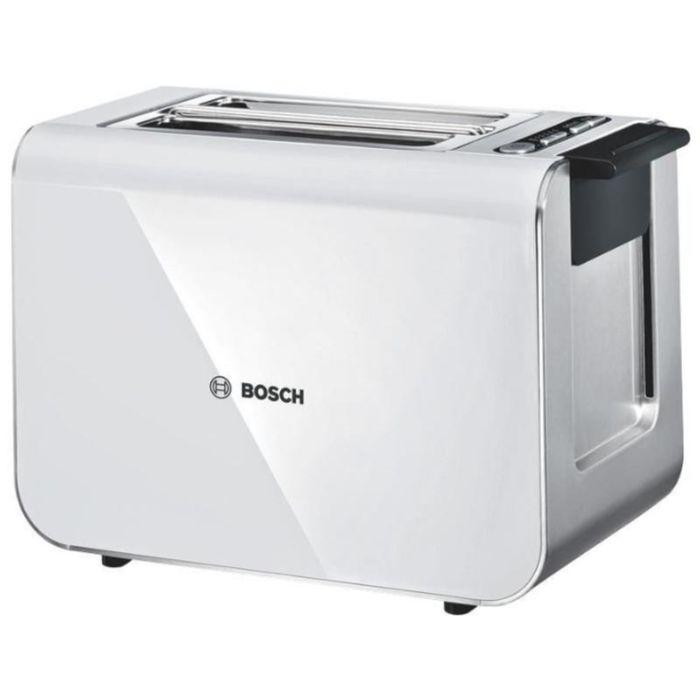 Тостер Bosch TAT 8611, 860 Вт, функция подогрева, функция размораживания фото