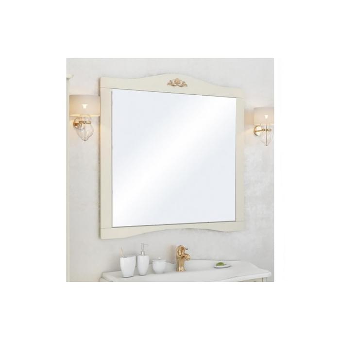 """Зеркало Акватон """"Версаль 100"""" слоновая кость 1A188102VSZA0"""