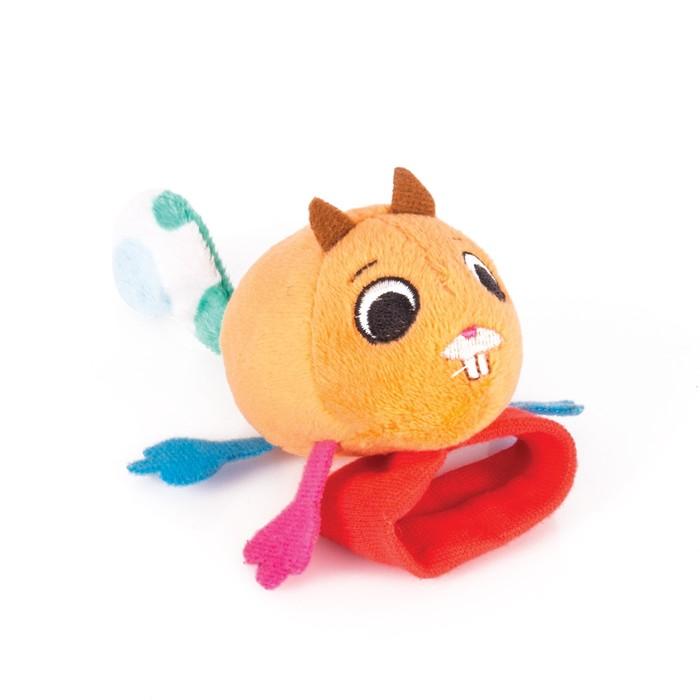 Игрушка-Погремушка на ручку «Бельчонок Хрумим» Happy Snail фото