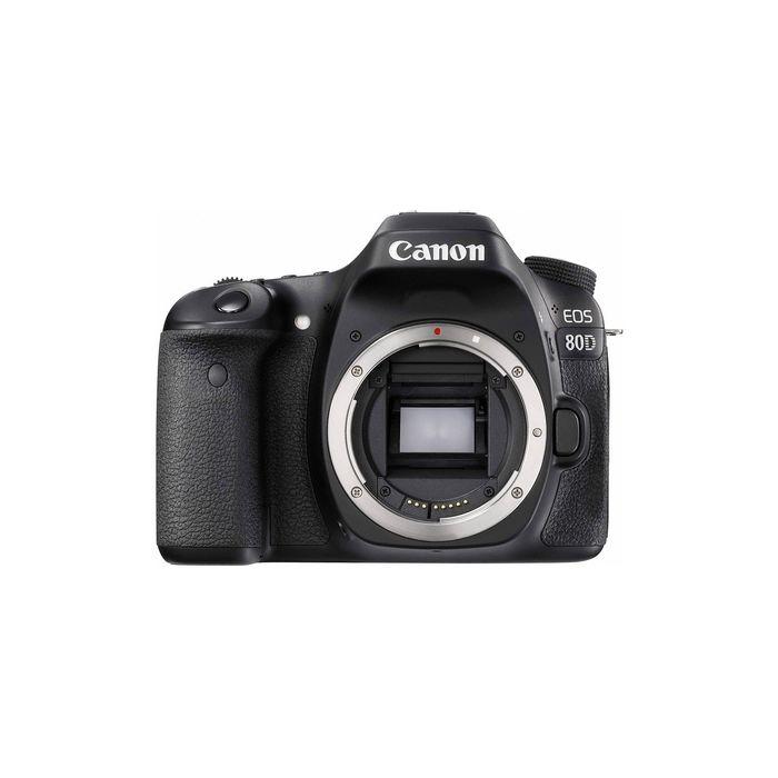 Зеркальный Фотоаппарат Canon EOS 80D черный 24.2Mpix (без объектива) фото