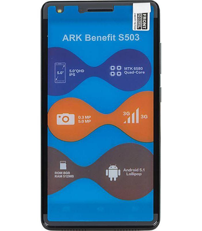 Смартфон ARK Benefit S503 8Gb черный фото