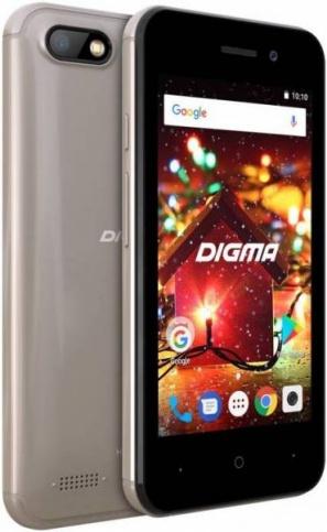 Смартфон Digma HIT Q401 3G золотистый фото