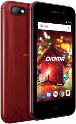 Смартфон Digma HIT Q401 3G красный фото