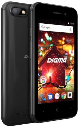 Смартфон Digma HIT Q401 3G черный фото