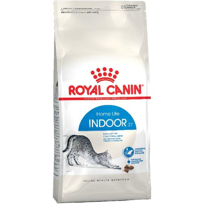 Сухой корм RC Indoor для кошек живущих в помещении, 4 кг фото