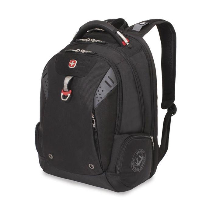 Рюкзак WENGER, 15'', черный, полиэстер 900D, 47х34х20, 31л фото