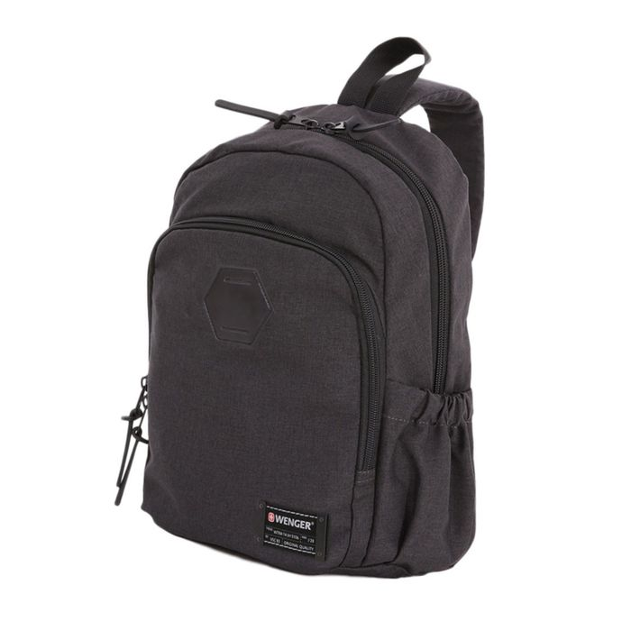 Рюкзак WENGER 13'', cерый, ткань Grey Heather/ полиэстер 600D PU , 25х14х35 см, 12 л фото