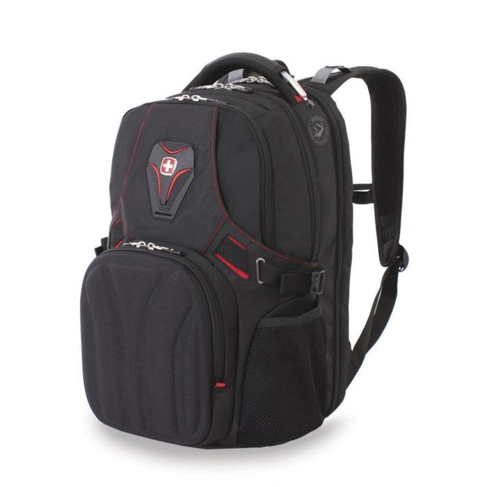 Рюкзак WENGER, 15'', черный, полиэстер 900D, 36х21х47 см, 35 л фото
