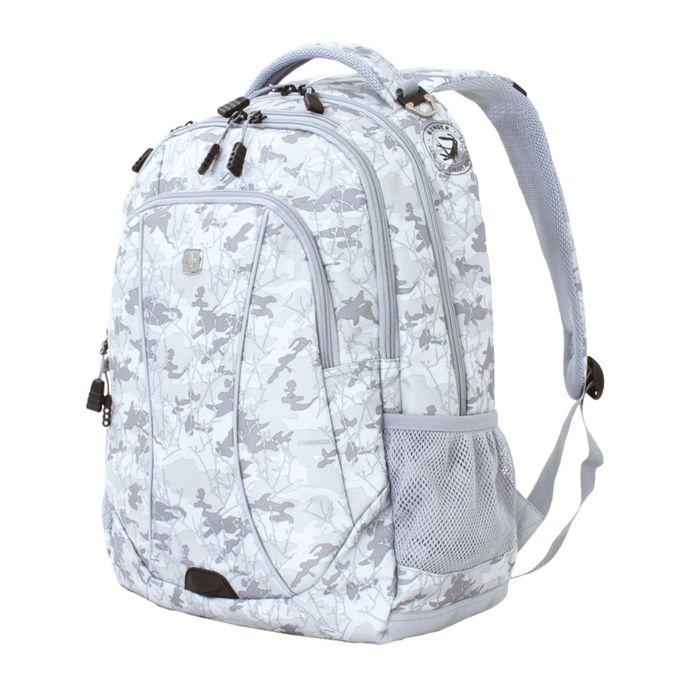 """Рюкзак WENGER, 15"""", серый камуфляж, полиэстер, 900D, 48х37х19 см, 34 л фото"""