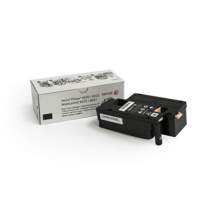 Тонер Картридж Xerox 106R02763 черный для Xerox Phaser 6020/6022/6025/6027 фото