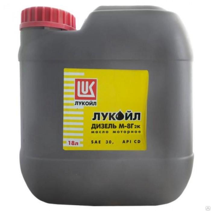 Масло моторное Лукойл М8Г2к, 18л фото