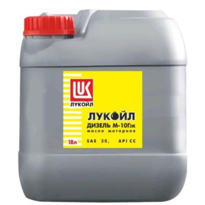Масло моторное Лукойл М10Г2к, 17 кг фото