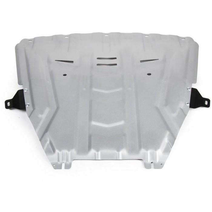 Защита картера и КПП Rival для Lada Vesta седан (V - 1.6; 1.8) 2015-н.в./Lada Vesta универсал (V - 1.6; 1.8) 2017-н.в./Lada Vesta универсал Cross (V - 1.6; 1.8) 2017-н.в., алюминий 4 мм, без крепежа, 3.6029.1 фото