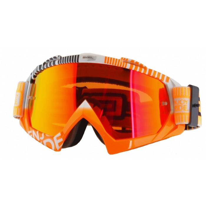 Маска O'neal B-Flex ETR белая/оранжевая/радиум фото