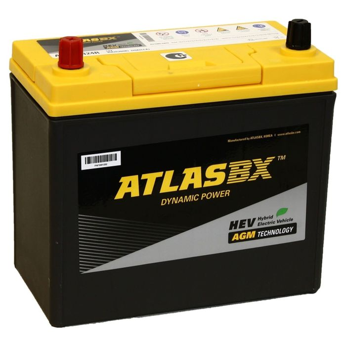 Аккумуляторная батарея Atlas 45 Ач т/кл AX S46B24R AGM фото