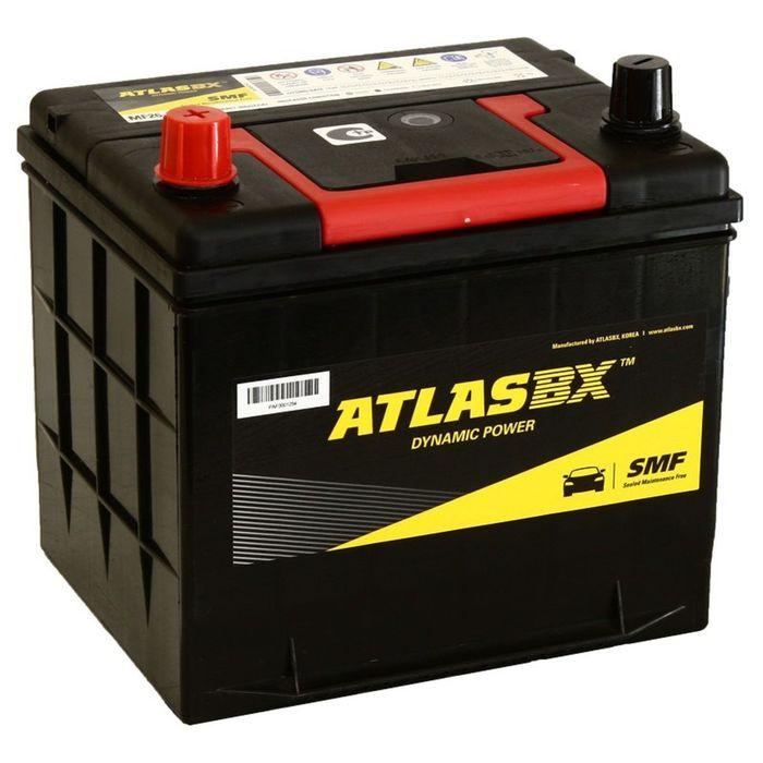 Аккумуляторная батарея Atlas 60 Ач MF 26-550 фото
