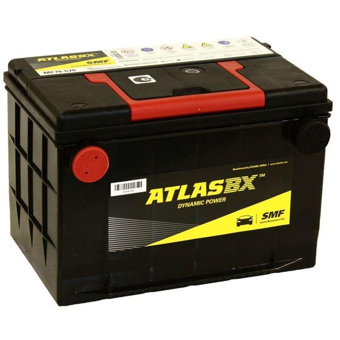 Аккумуляторная батарея Atlas 75 Ач MF 78-670 130RC фото