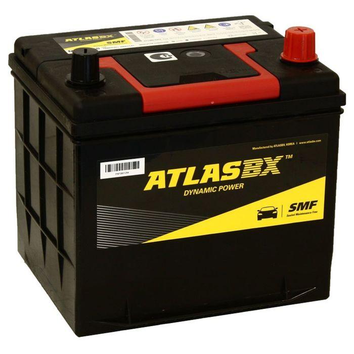 Аккумуляторная батарея Atlas 60 Ач, обратная полярность MF 26R-550 фото