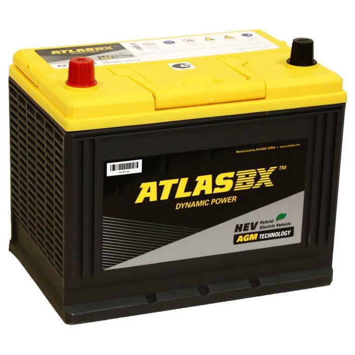 Аккумуляторная батарея Atlas 75 Ач AX S65D26R AGM фото