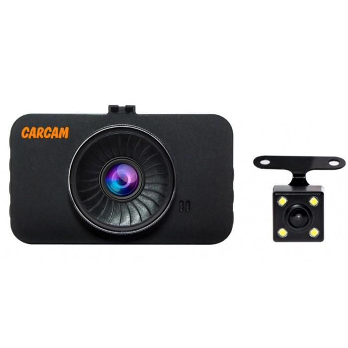Видеорегистратор Carcam Каркам F3, две камеры, 3