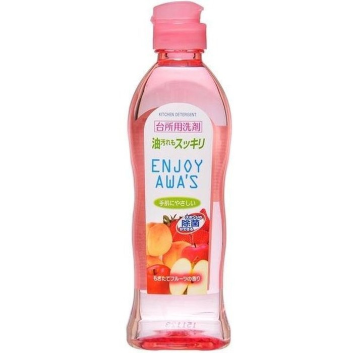 Жидкость для мытья посуды Rocket Soap Enjoy Awa's с ароматом фруктов, 250 мл фото