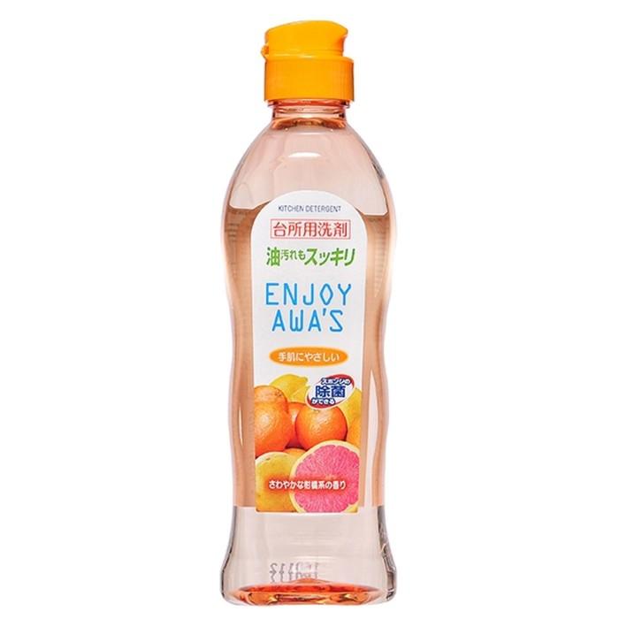 Жидкость для мытья посуды Rocket Soap Enjoy Awa's с ароматом цитрусов, 250 мл фото