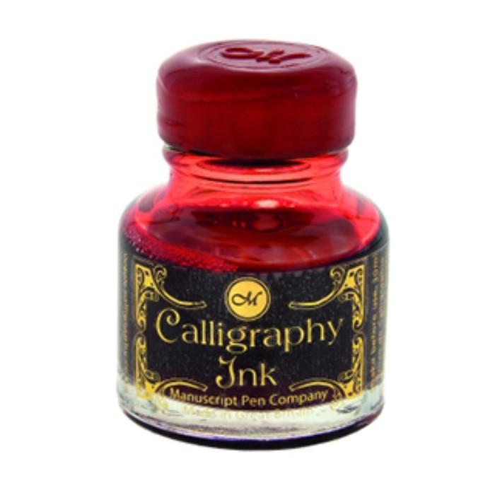Чернила для каллиграфии 30 мл Manuscript Gift рубин MSH420RUB фото