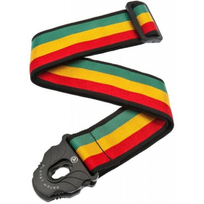Гитарный ремень PLANET WAVES 50PLA06, 50мм. крепление Planet Lock, цвет jamaica фото
