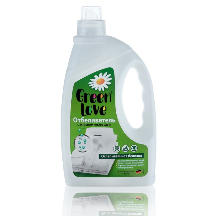 Отбеливающее средство Green Love, 1350 мл фото