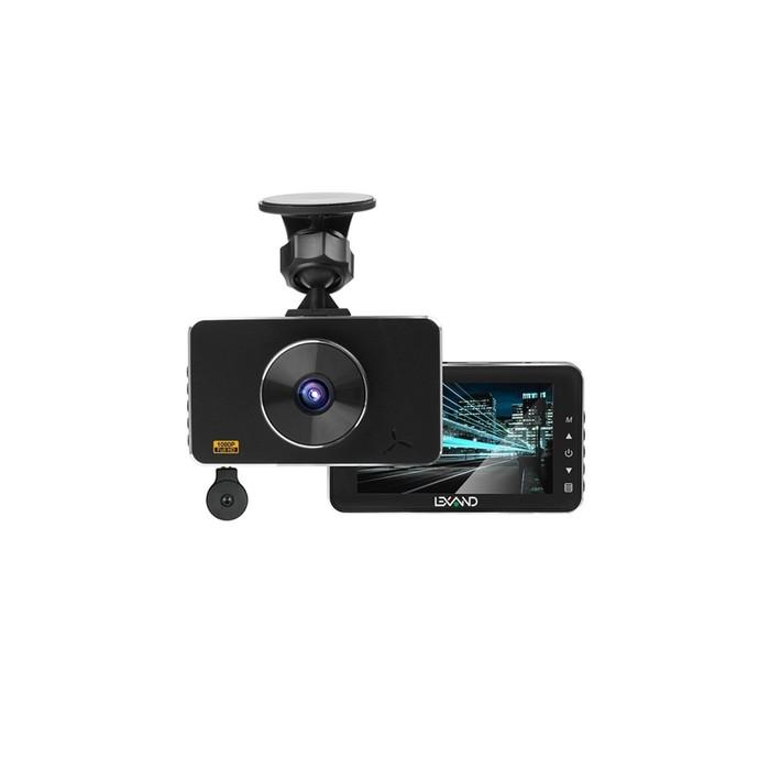 Видеорегистратор Lexand LR85 Dual, две камеры, 3