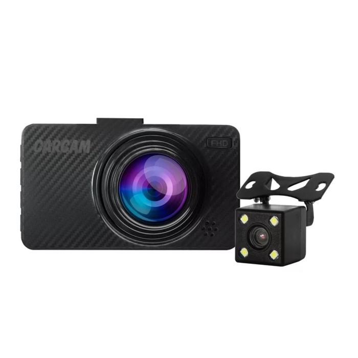 Видеорегистратор Carcam Каркам D5, две камеры, 3