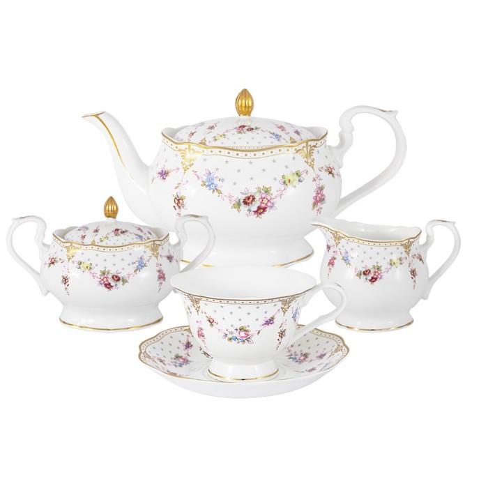 Чайный сервиз «Ла-Рошель», 15 предметов, 6 персон фото