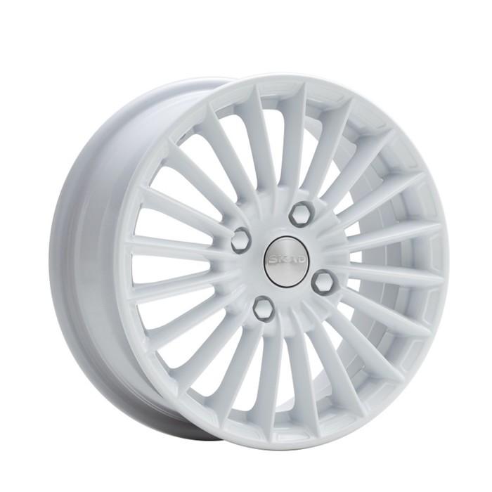 Литой диск SKAD Веритас 6x15 4x100 ET48 d54.1 белый фото