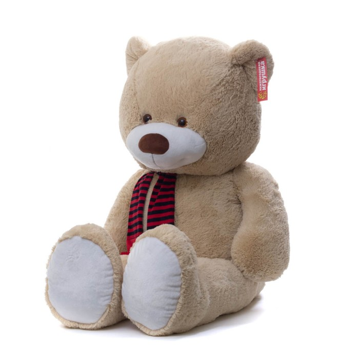Мягкая игрушка Мишка в шарфе», огромный, 145 см фото