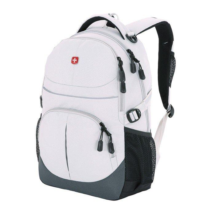 Рюкзак WENGER, серый, полиэстер, 33х15х45 см, 22 л фото
