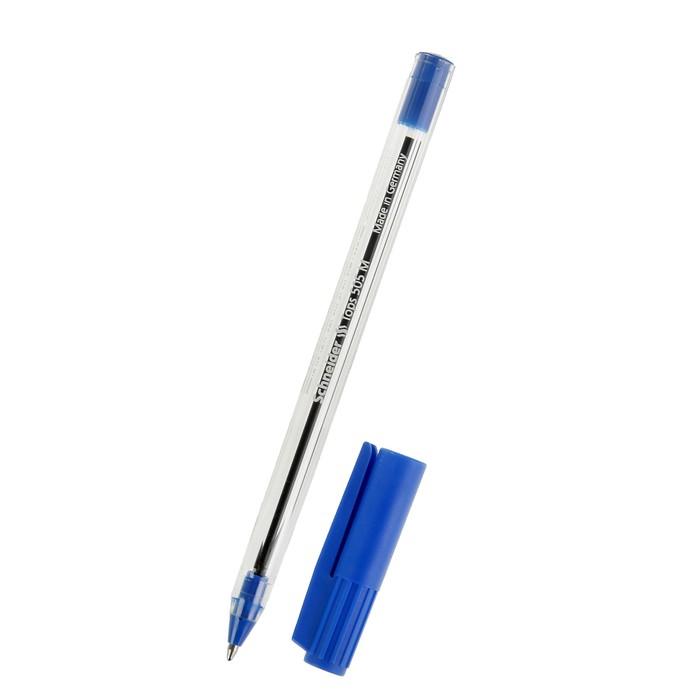 Ручка шариковая Schneider TOPS 505M 0.5 (светостойкие чернила для документов) синяя фото