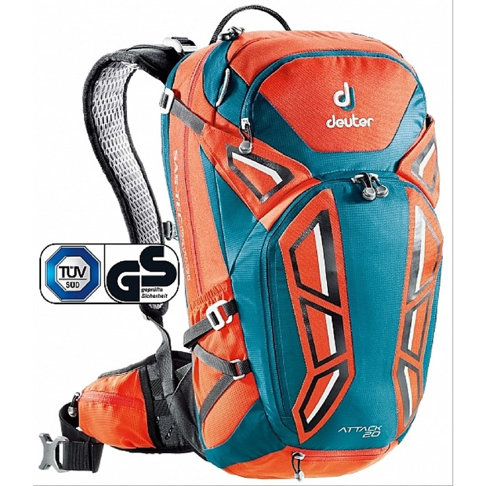 Рюкзак Deuter 2018 Attack 20 papaya-petrol фото