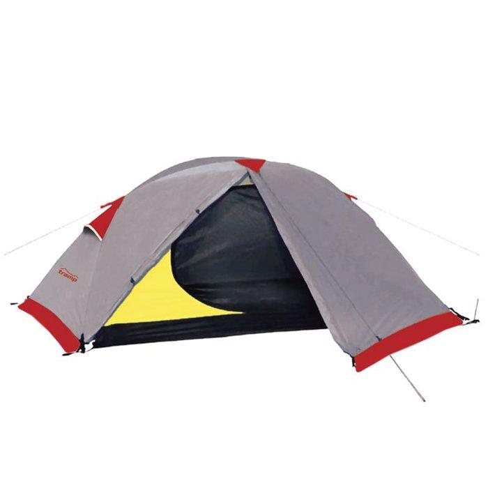 Tramp палатка Sarma 2 (V2), цвет серый фото