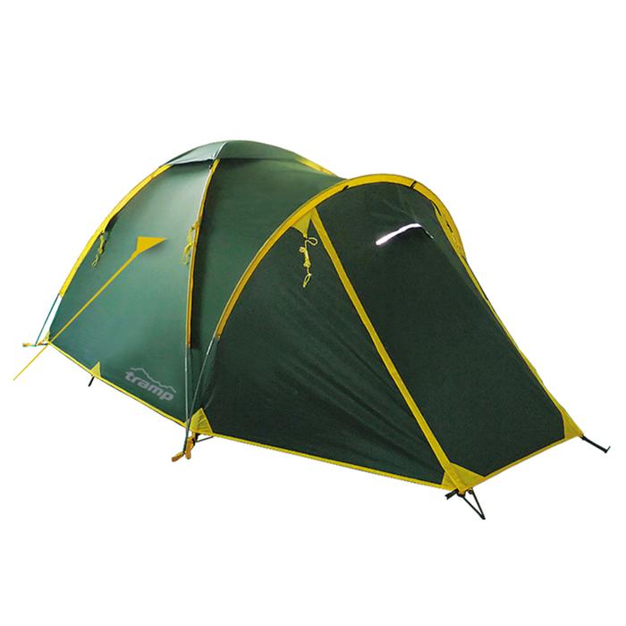 Tramp палатка Space 3 (V2), цвет зелёный фото